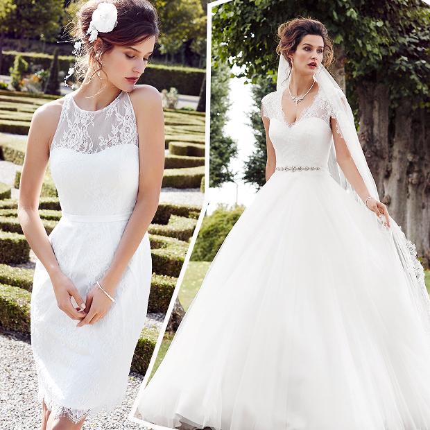 40993167 Kort eller lang brudekjole - hvordan vil du giftes?