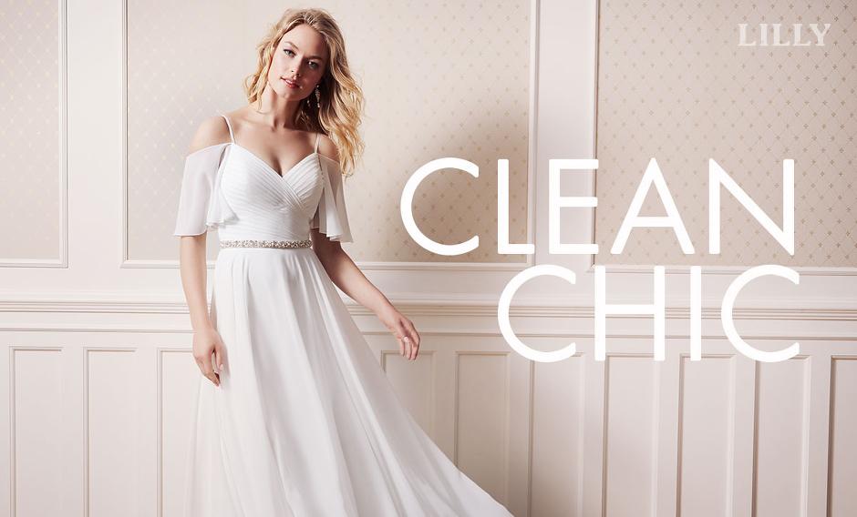 f53850cada14 Perfekt elegance i Clean-Chic look »
