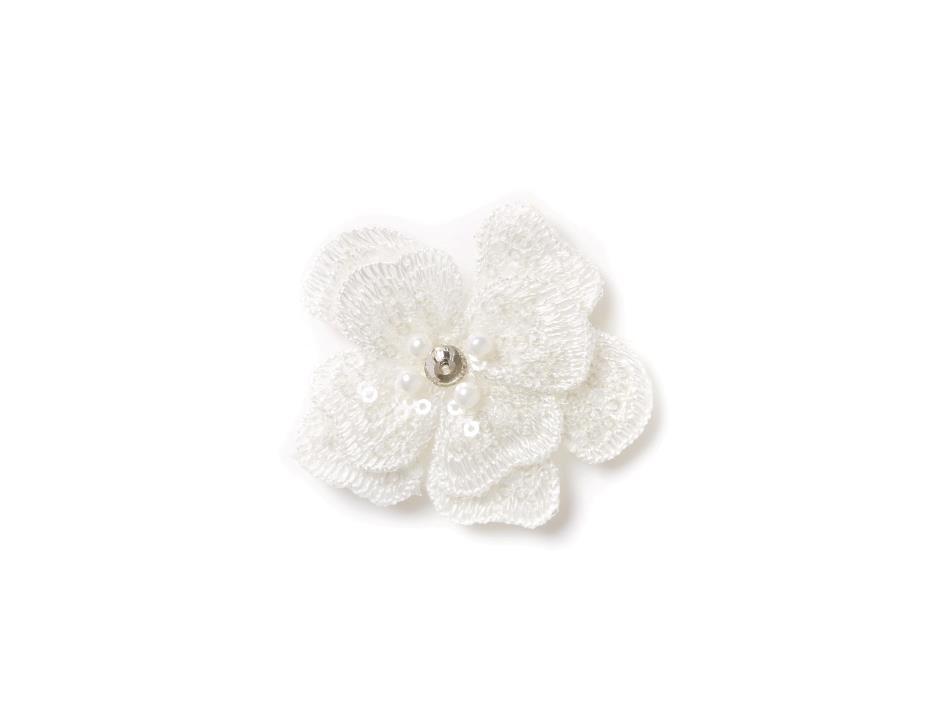 Blomst på velcro (5 cm)