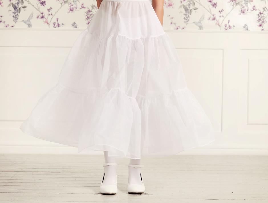 Underkjol i vit