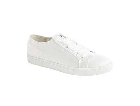 76c38d50 LILLY Satin Sneaker (creme) kr. 799,00