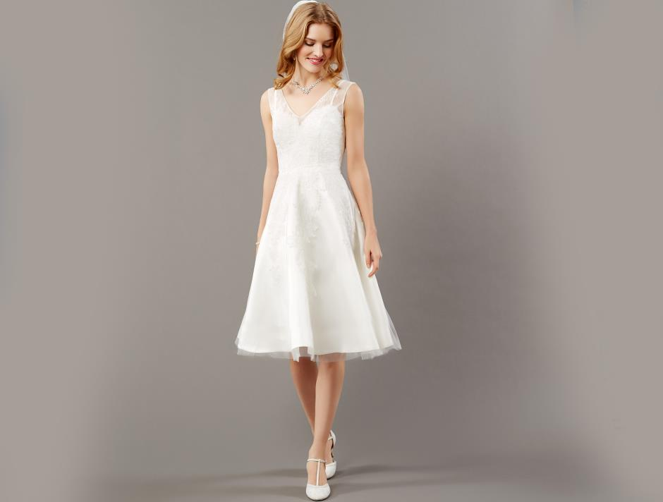 Spets överklänning (cream)