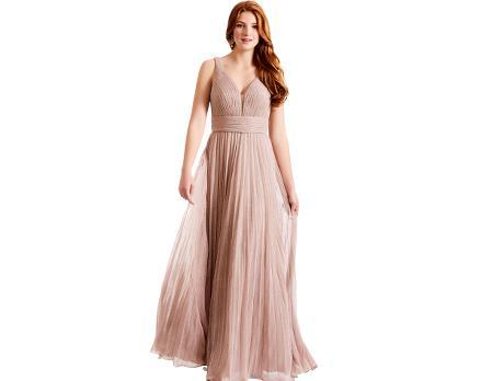 06ccb6beb5b7 Plisseret maxi kjole kr. 2.699