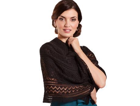 edc30ae2a299 Vera Mont Festklänning SEK 1 699,00 · Svart stickad sjal med hålmönster SEK  249,00