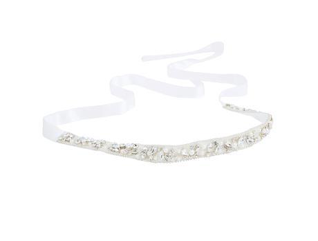 8045b7023efe Midjeband med glitter och pärlor (kräm) SEK 799,00