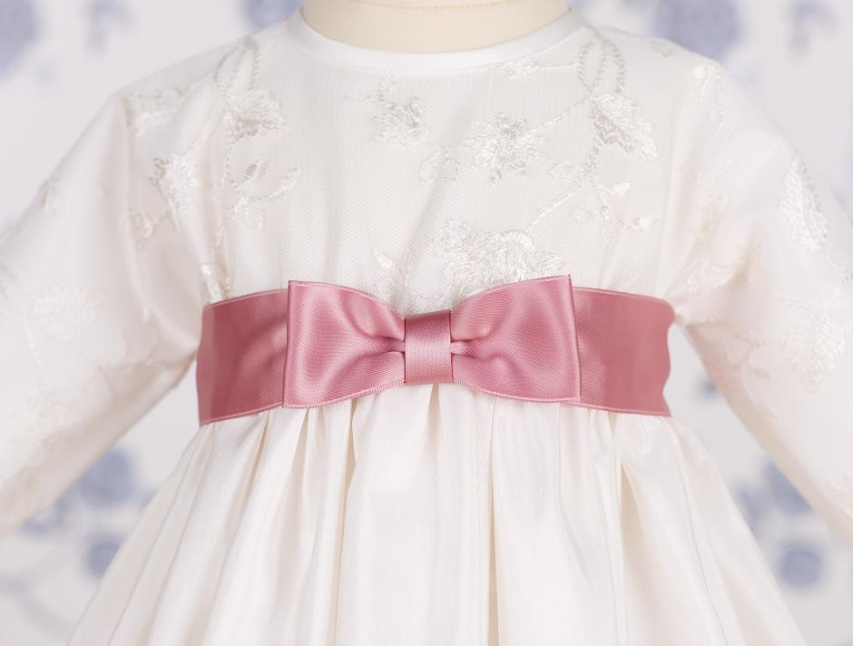 Satin bow (Dark Rose)