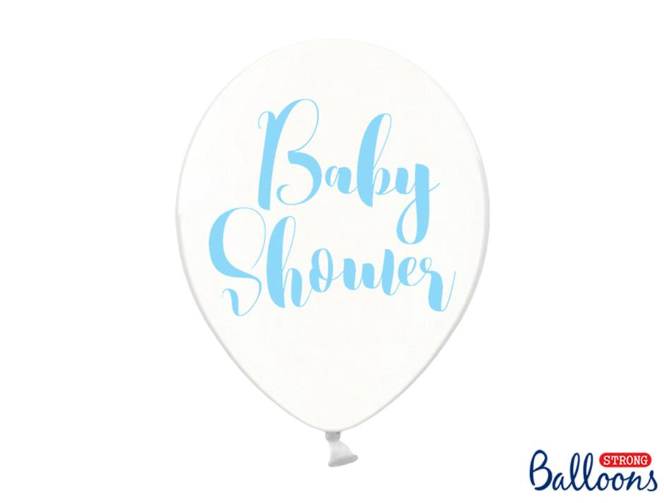 Ballon Baby Shower Boy (50 stk.)