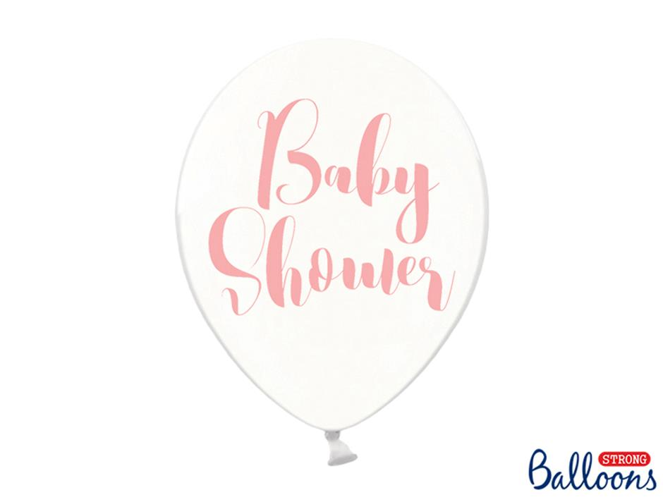 Ballon Baby Shower Girl (50 stk.)