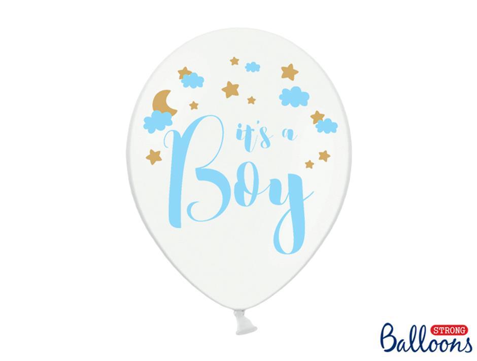 Ballon It´s a Boy (50 stk.)