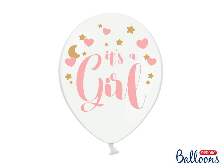Ballon It´s a Girl (50stk.)