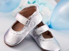Babyschuhe (Silber)