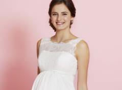 Brudekjole til gravid