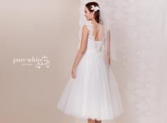 Kurzes Tüll-Kleid im 50's Style