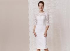 Spitzen-Etui-Kleid