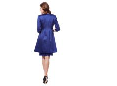 Lace dress & satin jacket