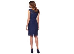 Dress incl. Bolero (dark blue)