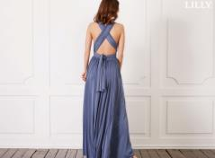 Multi wrap kjole (onesize)