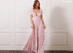 Multi omlott klänning (onesize)