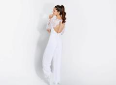 Buksedragt (hvid)