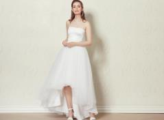 Asymmetric tulle skirt (cream)