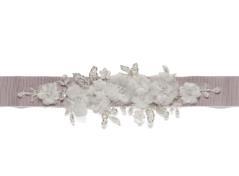 Bridal belt (light rose)
