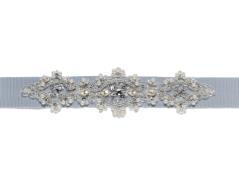 Bridal belt (light blue)