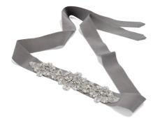 Bridal belt (grey)
