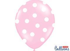 Lyserøde balloner (6 stk.)