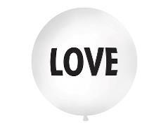 Gigant ballon LOVE (1 stk.)