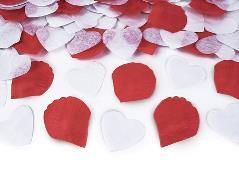 Konfettirør mix hjerte