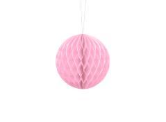 Honeycomb Ball (lyserød 10 cm. 1 stk.)
