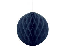 Honeycomb Ball (m.blå 10 cm.1 stk.)