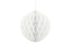 Honeycomb Ball (hvid 20 cm. 1 stk.)