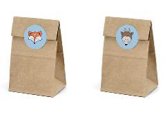 Slikposer med dyremotiver (6 stk.)