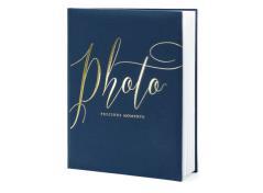 Smuk blå fotobog (1 stk.)