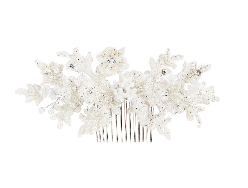 Comb in elegant cream coloured shades