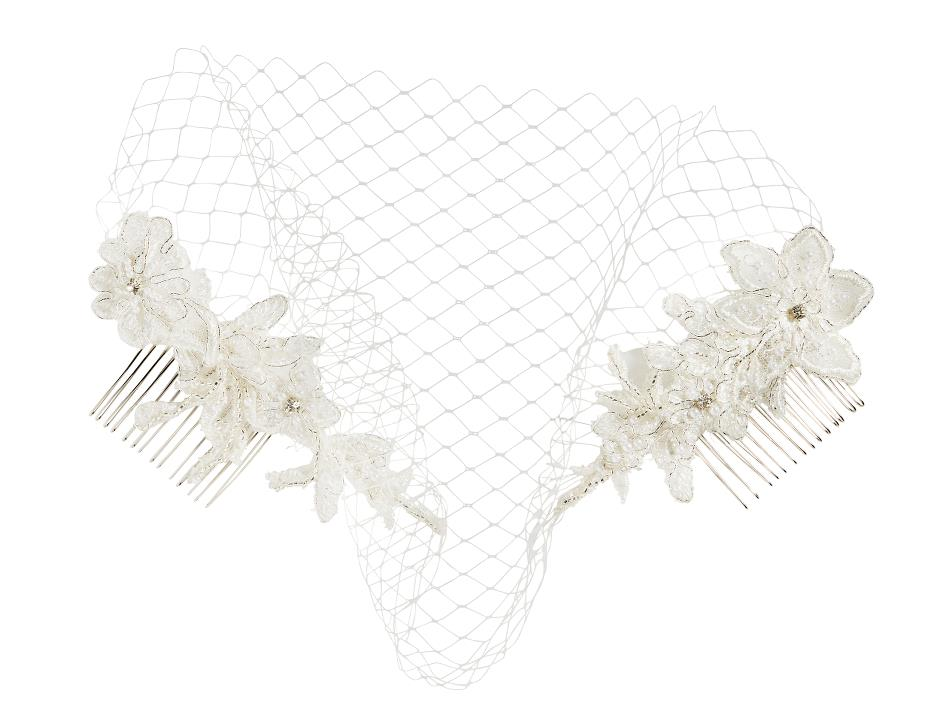 Fashionable combs with net