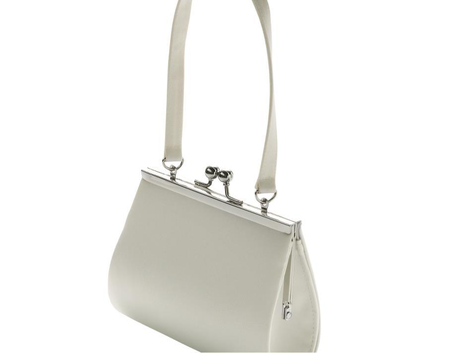 Stylish bridal bag (cream)