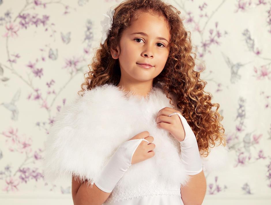 Children feather cape