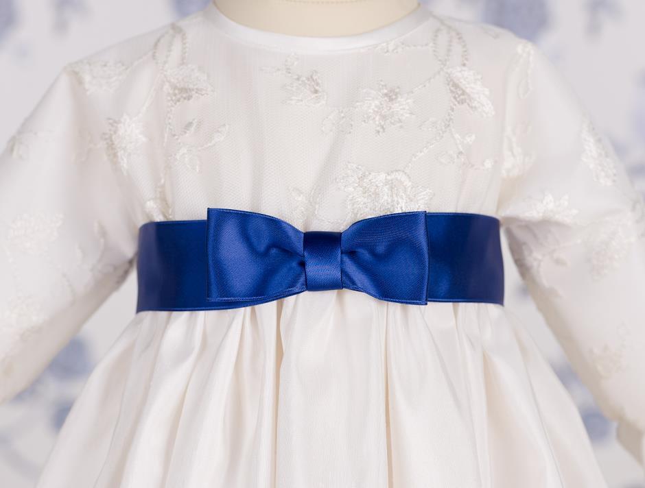 Satin bow (Blue)