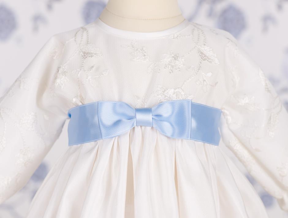Satin bow (Light Blue)
