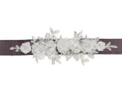 Bridal belt (dark brown)