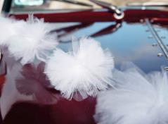 Tulle Car Decoration