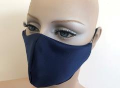 Alltagsmaske 2-lagig (Dark Blue)
