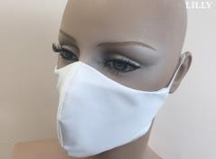 3-Layered Facemask (White)