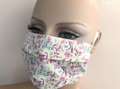 Earloop Facemask (Petite Flower)