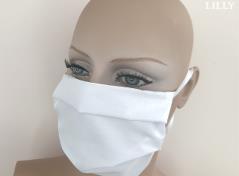 Earloop Facemask (White)